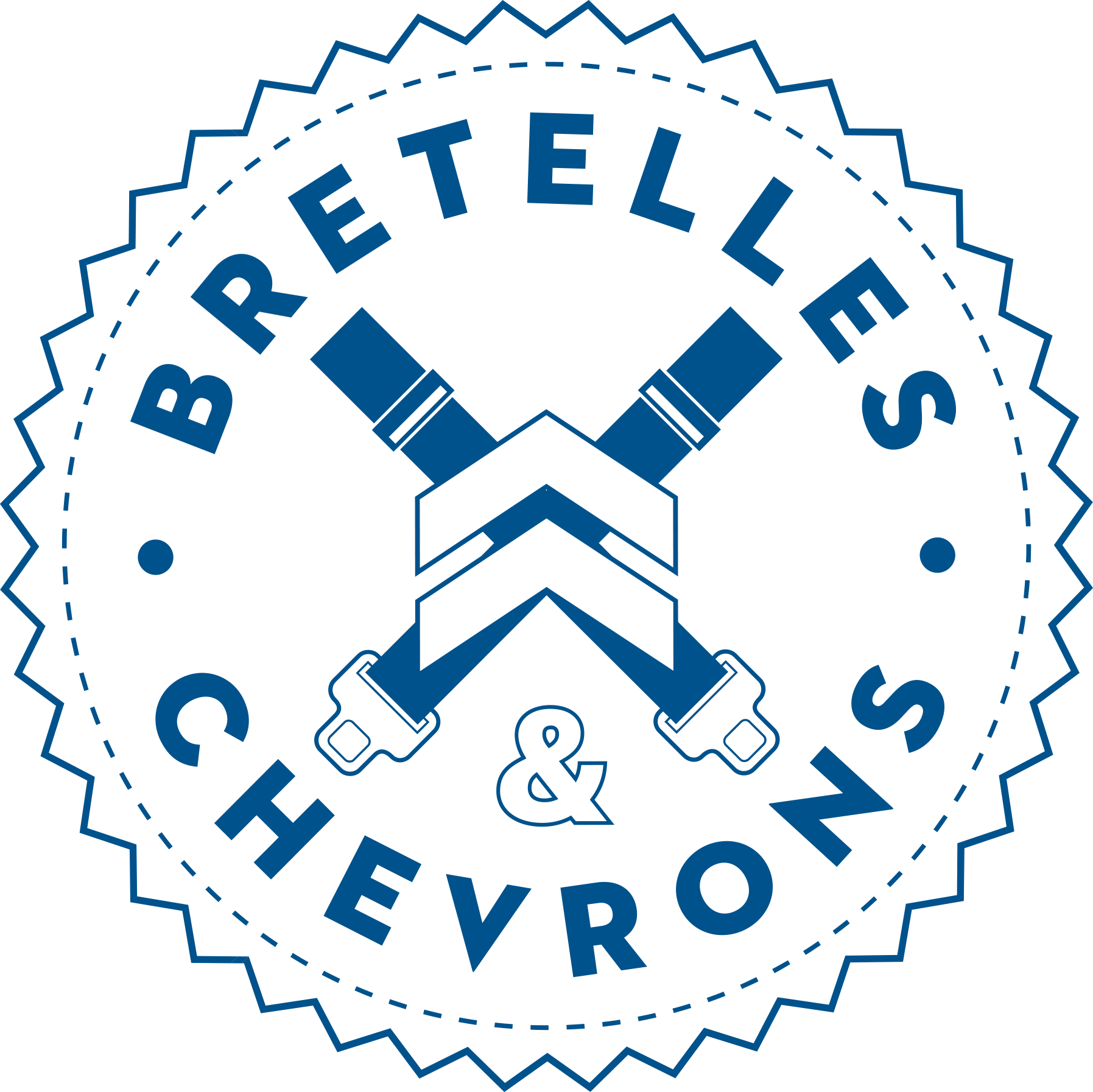 Bretelle Chevrons Logo