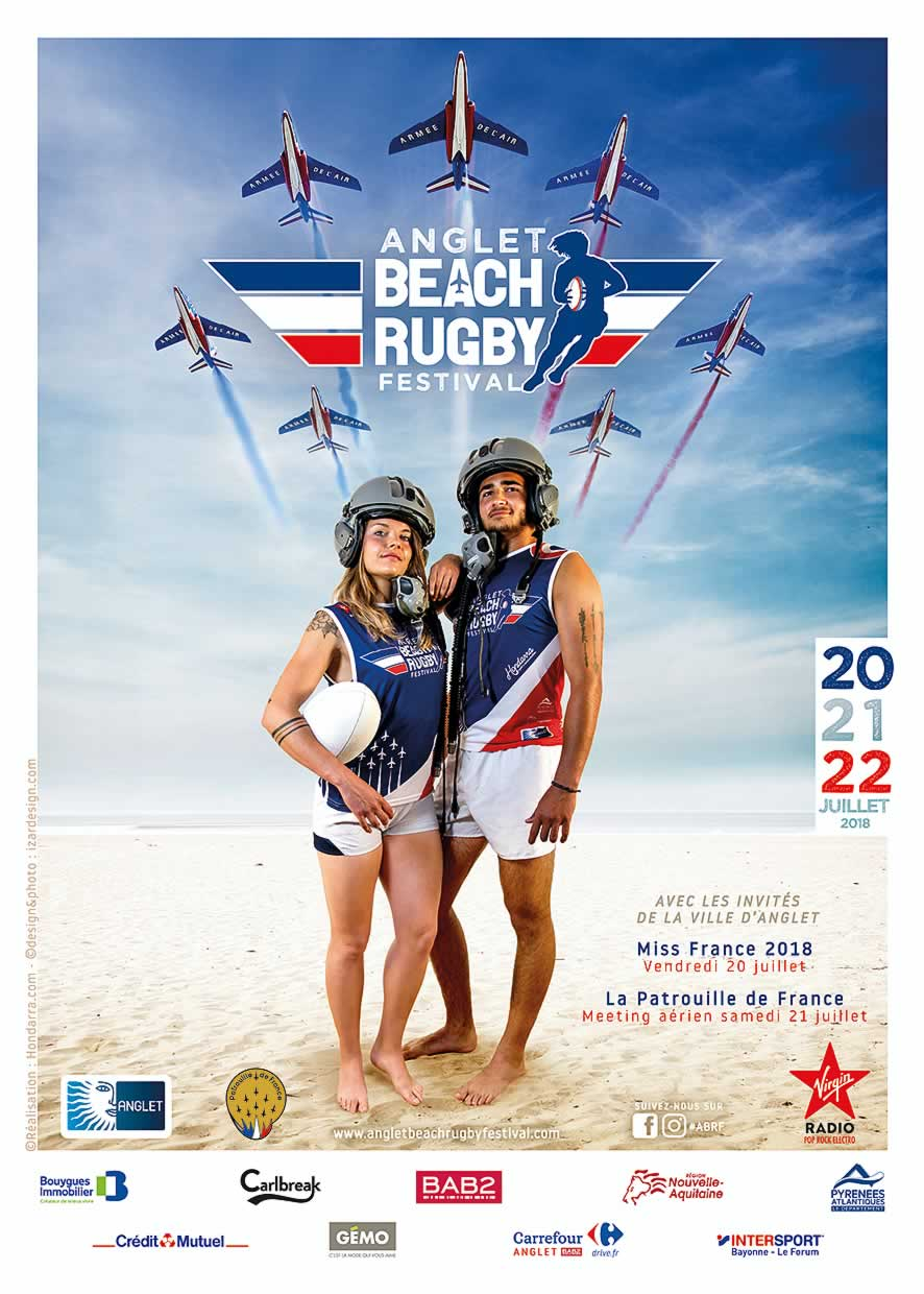 Anglet Beach Rugby Festival - 20, 21 et 22 juillet 2018